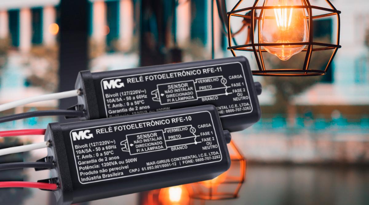 Reles fotoeletronicos compactos