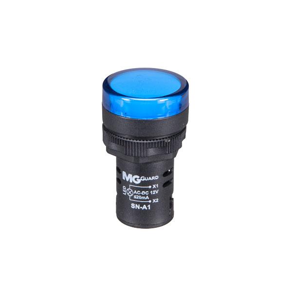 sinaleiro monobloco azul 12V 1 unidade