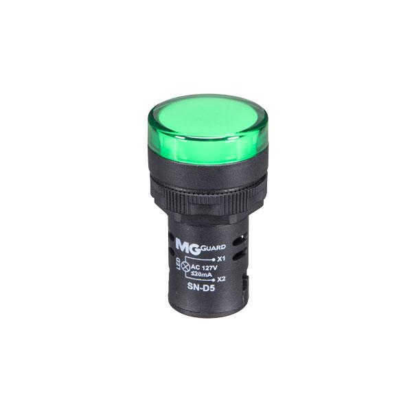 sinaleiro monobloco verde 127VCA - 1 unidade