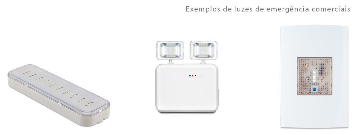 modelo de luz de emergencia