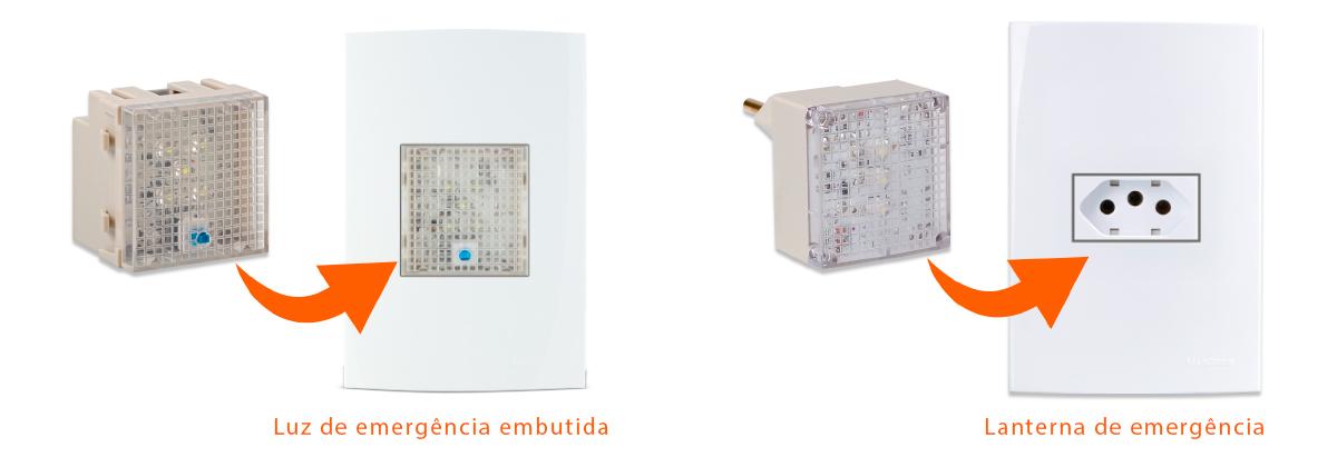 modulo luz de emergencia e luz de emergencia portátil