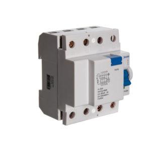 interruptor diferencial residual quadripolar - 25A