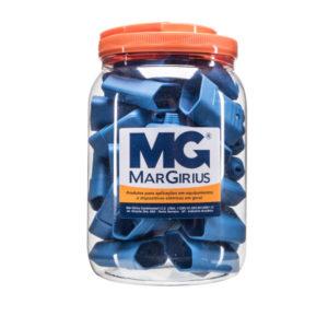 Pote com 32 tomadas 10A na cor azul